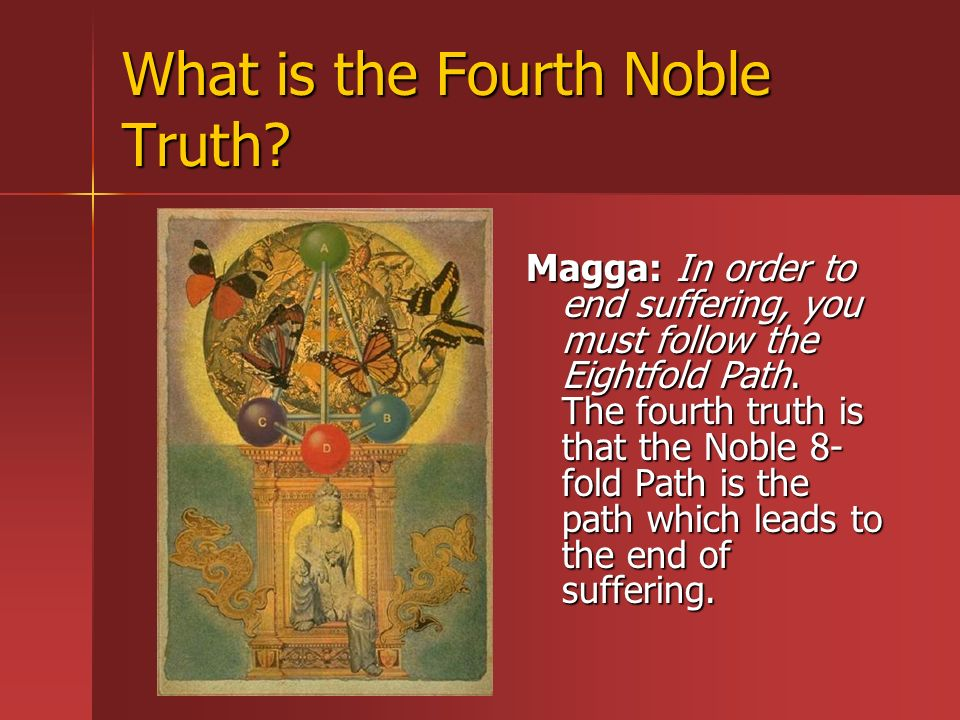 What is the Fourth Noble Truth.