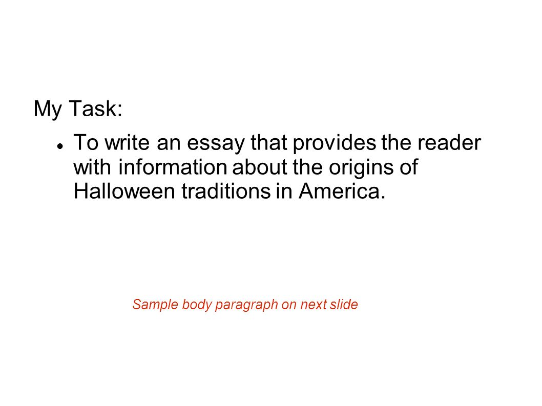 expository writing expository writing is a type of writing that is  my task to write an essay that provides the reader information about the origins
