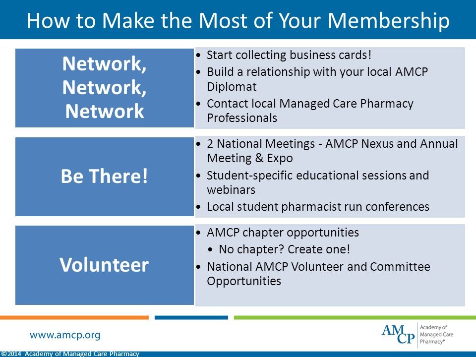 What is Managed Care Pharmacy? Developed by AMCP Membership ...