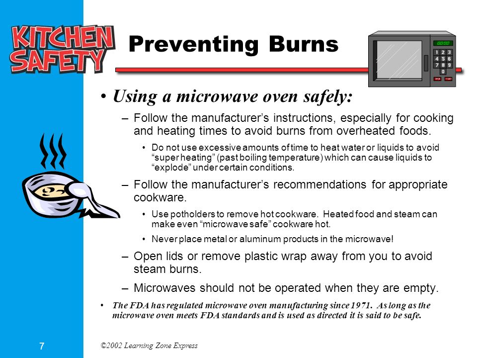 2002 Learning Zone Express 7 Preventing Burns Using A Microwave Oven Safely Follow