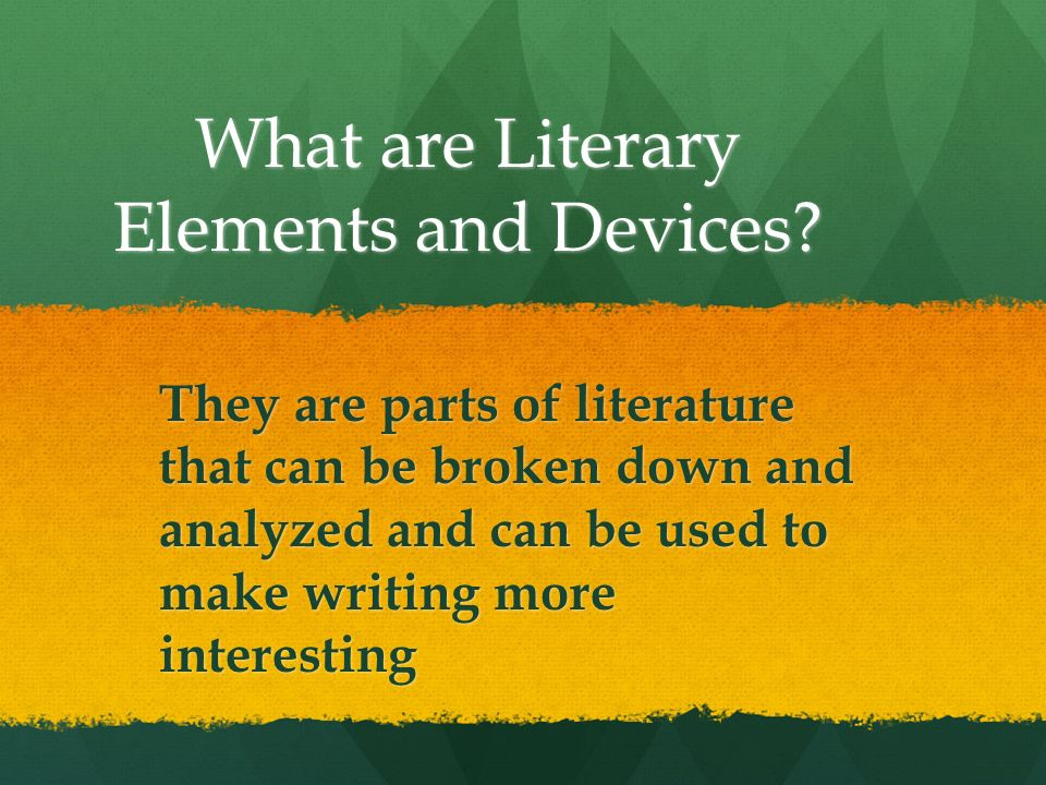 what is literary and non literary