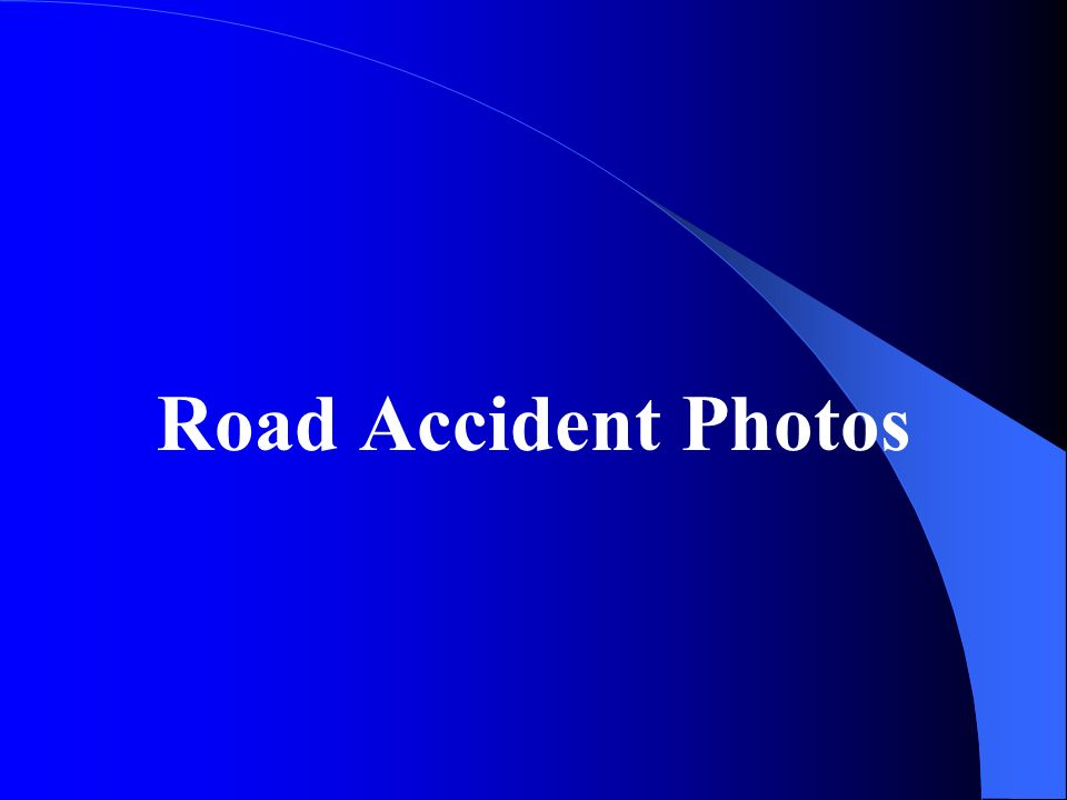 an essay on road accidents