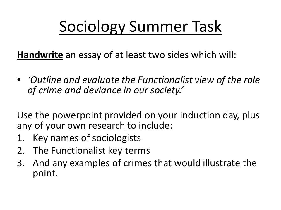 Essay Writing  Trinity College Dublin Global Warming Research Paper  The Following Essay Will Use The Ideas Of Durkheim