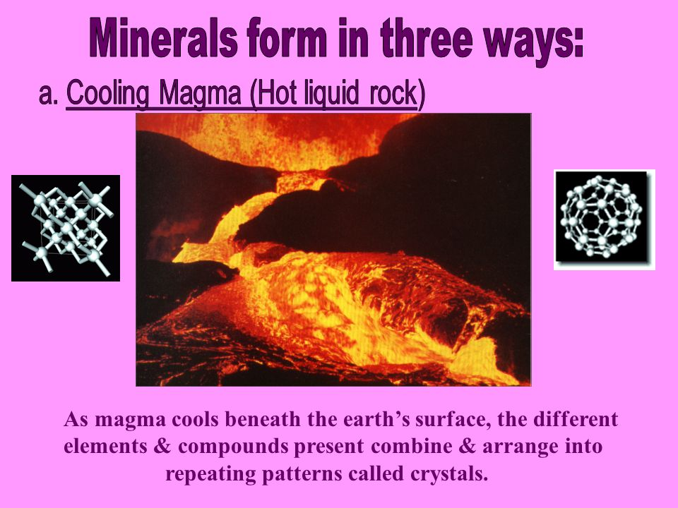 Outcome: Use selected properties to identify common rock forming ...