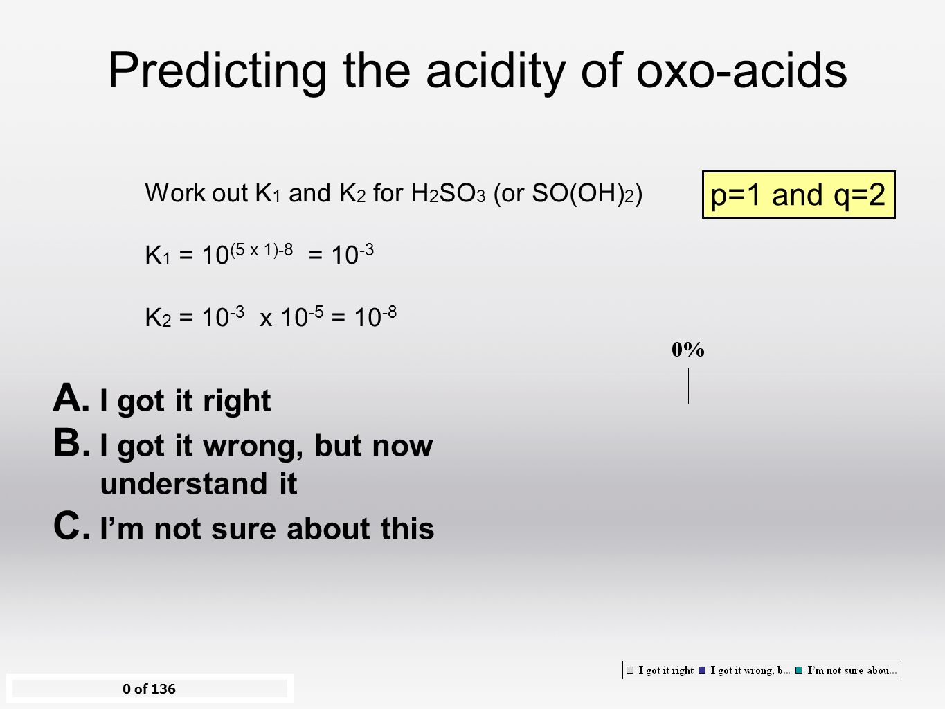 Work out K 1 and K 2 for H 2 SO 3 (or SO(. 17 Conjugate Acids and Bases ...
