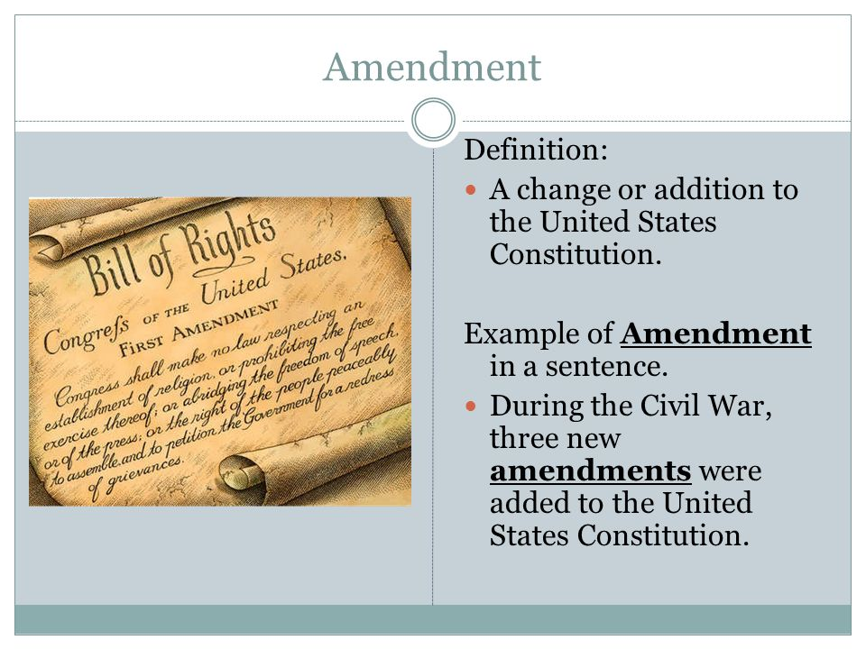 first amendment of the u s constitution The first amendment to the united states constitution prohibits the united states congress from enacting legislation that would abridge the right of the people to assemble peaceably the fourteenth amendment to the united states constitution makes this prohibition applicable to state governments.