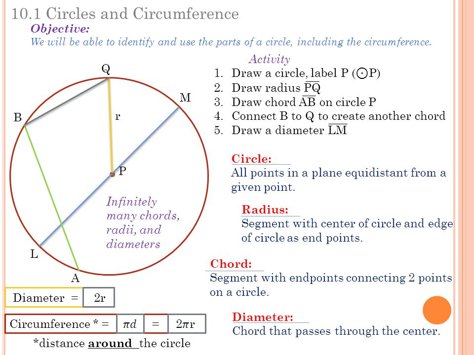 C hapter circles and circumference 102 angles and arcs 103 arcs 101 circles and circumference objective we will be able to identify and use the parts ccuart Image collections