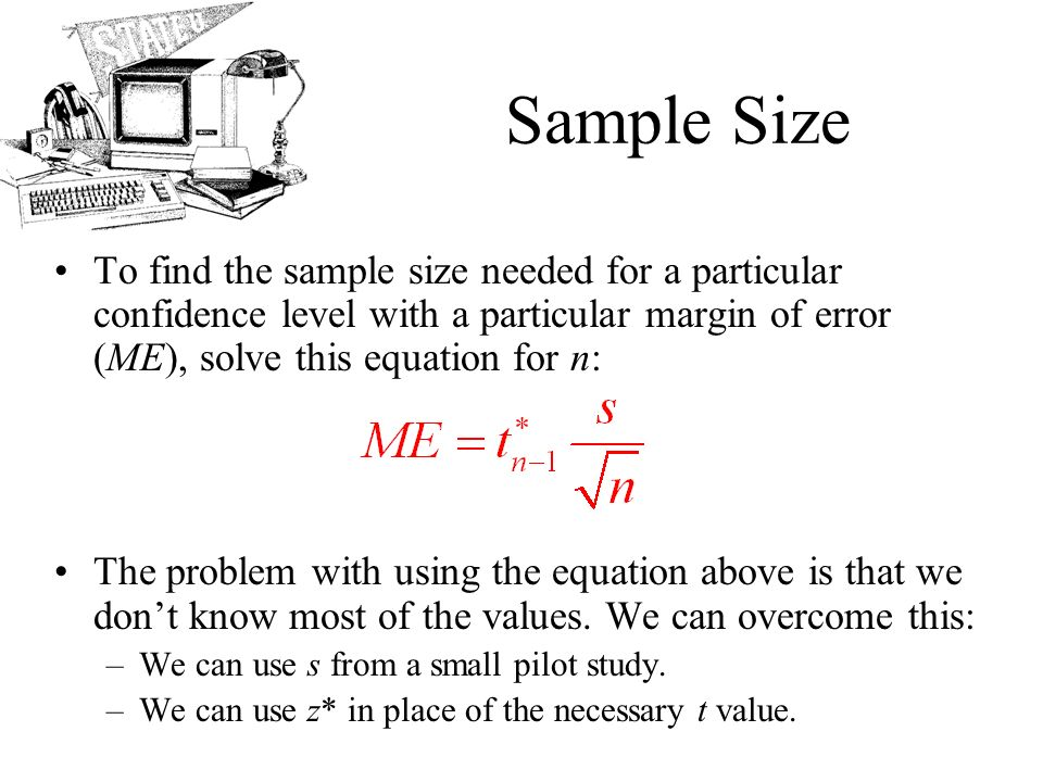 AP Statistics Chapter 23 Inference for Means. Objectives: The t ...