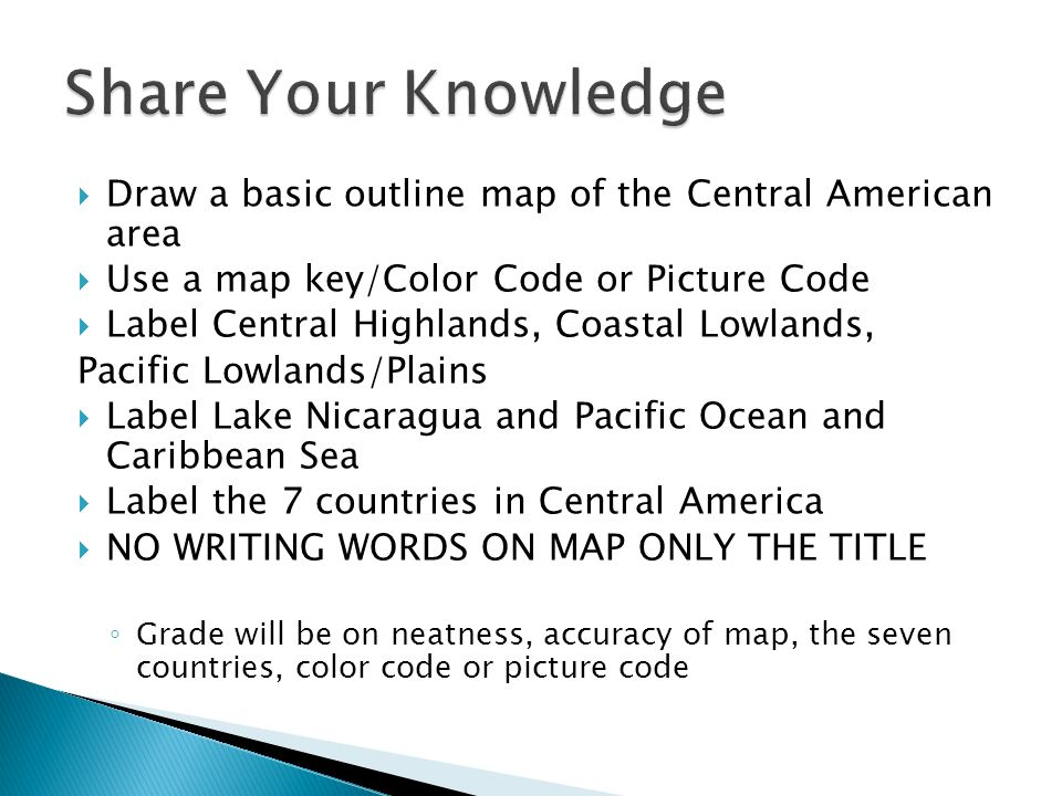 Land Bridge Millions Of Years Ago N America And S America Were - Blank map of the caribbean to label