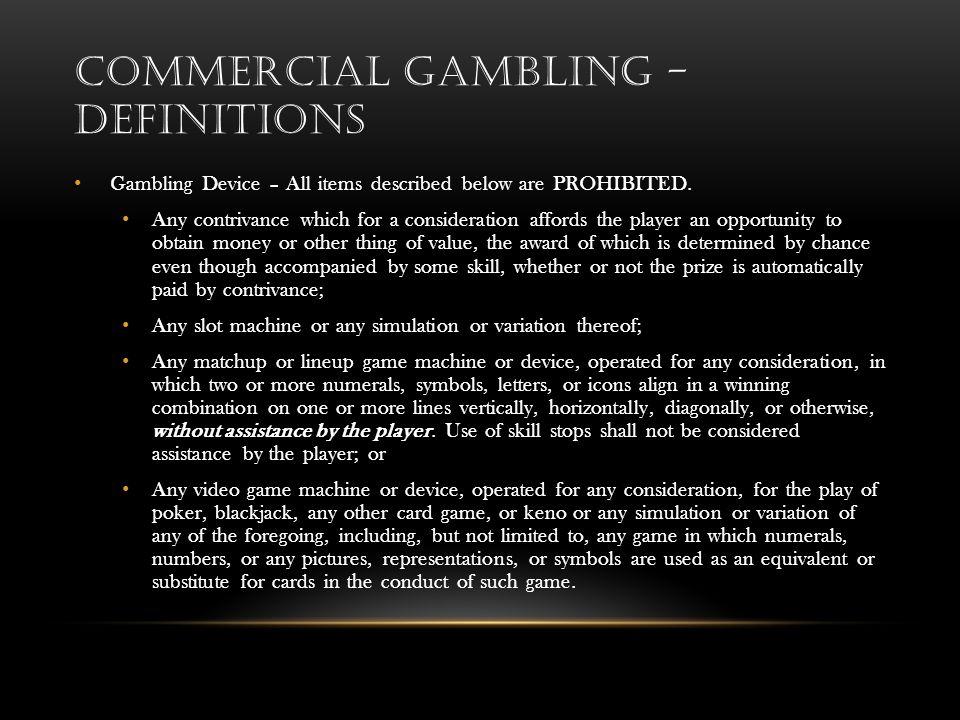 Gambling definitions main street station casino brewery hotel