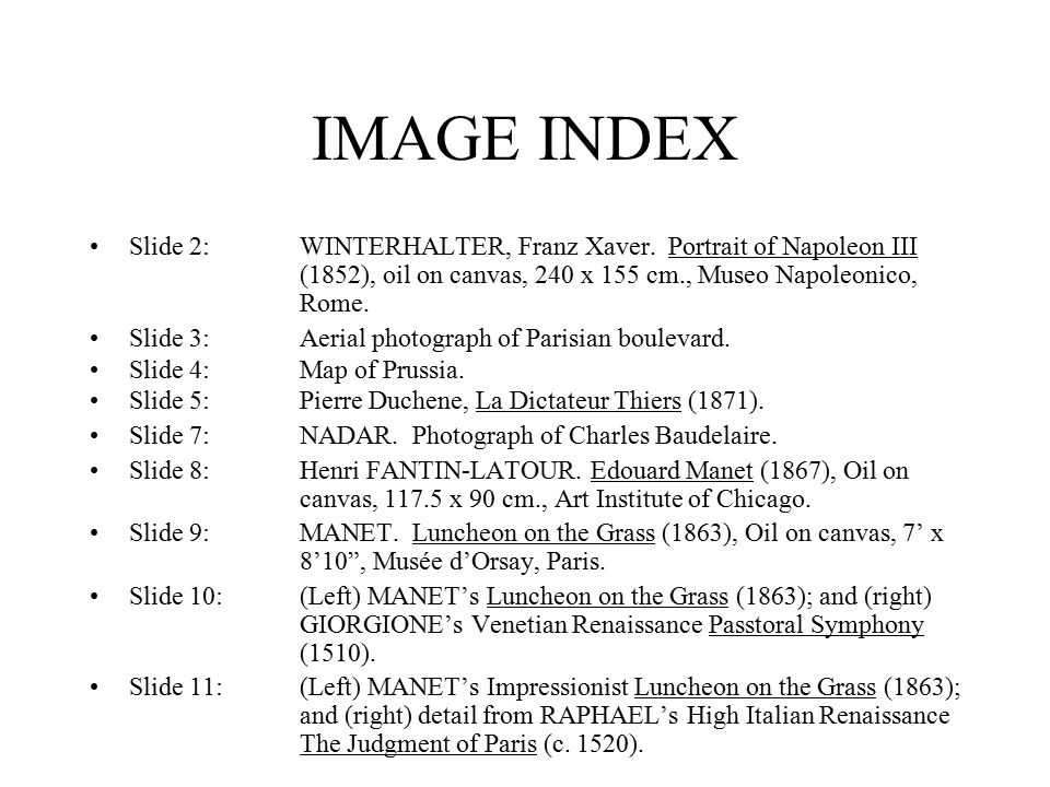IMAGE INDEX Slide 2:WINTERHALTER, Franz Xaver.
