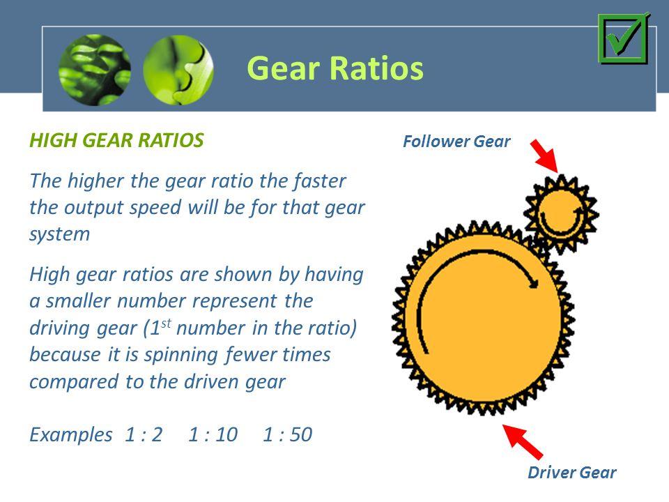 Gears More Gears What are gears What do gears accomplish ppt – Gear Ratio Worksheet
