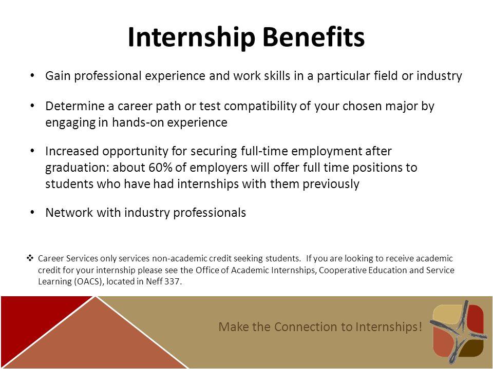 how to do internship