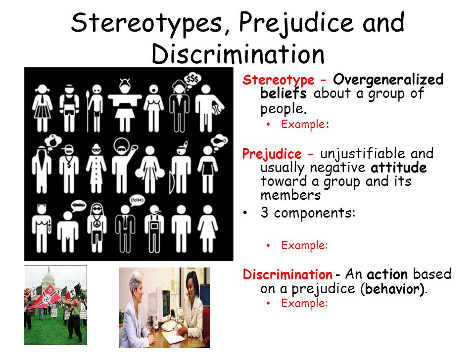 an introduction to stereotype prejudice and social principles in history A stereotype is an attitude towards a person or group on the basis prejudice as social in origin  psychological theories of prejudice.