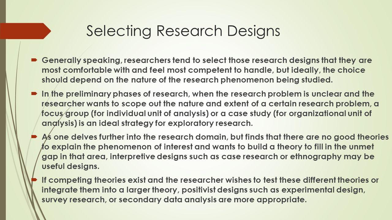 essay quasi-experimental design