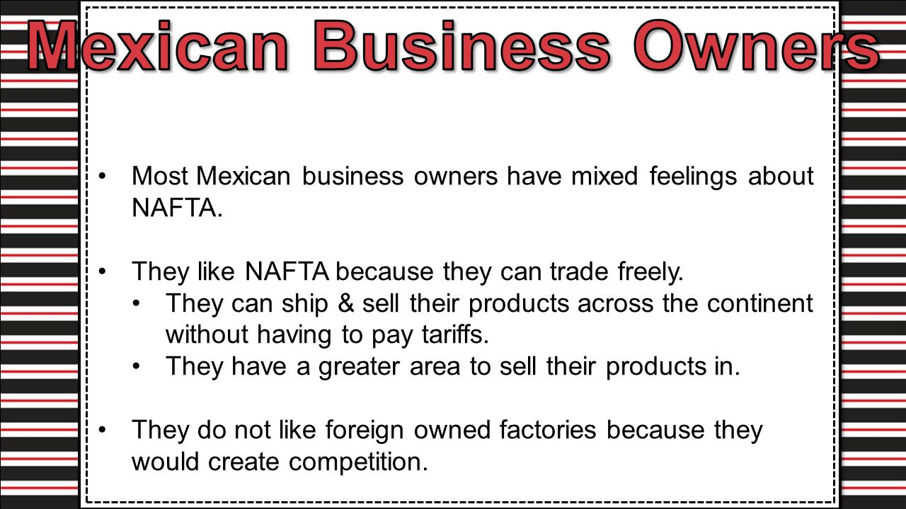 the relationship between the brain drain and the north american free trade agreement (the north american free trade agreement) the mexico-brazil bilateral trade and investment relationship  free trade between mexico and brazil:.
