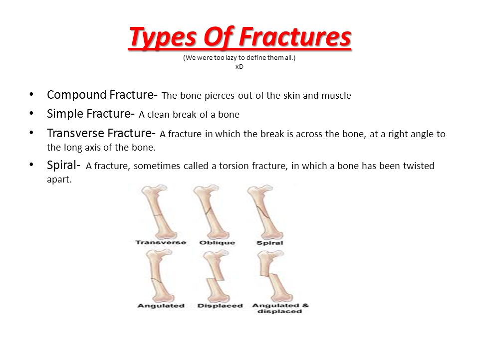 First Aid First Aid Bone Joint Injuries Oh Yeah D A