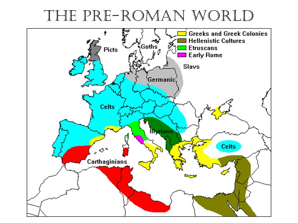 The Fall The PreRoman World Rome Expands ManyFront War ppt