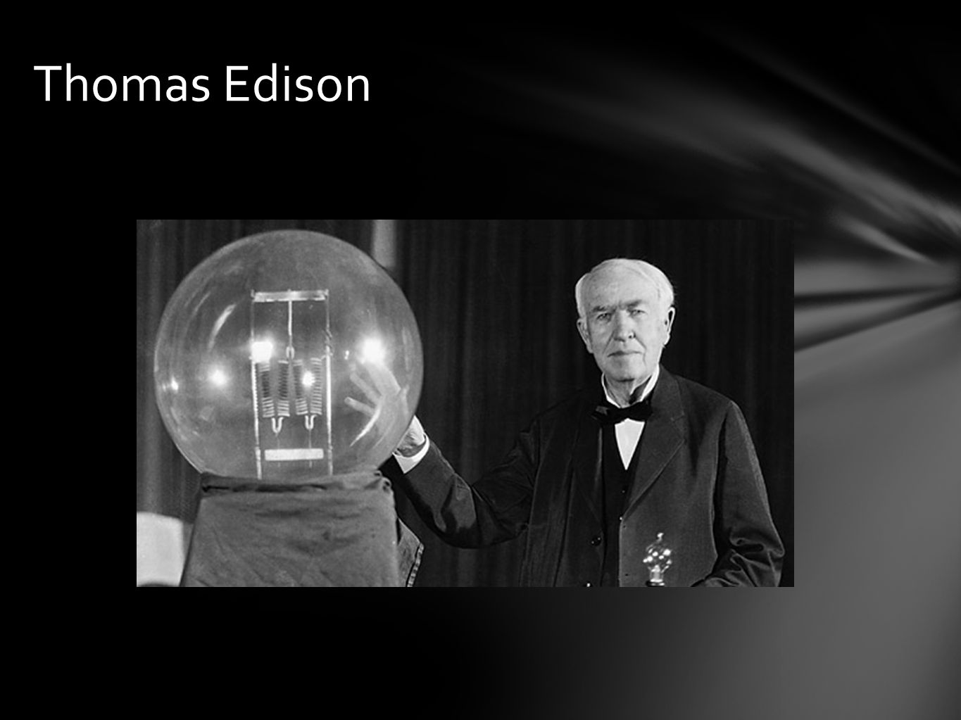 effects of thomas edison Edison contributions to the film industry - black maria film festival edison contributions to the film industry - black maria film festival 03/02/2012 subscribe to.