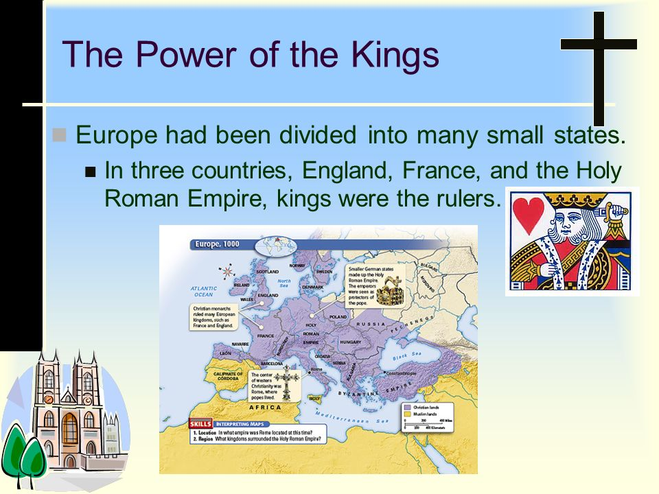 3.Who had the most power during the Later Middle Ages.