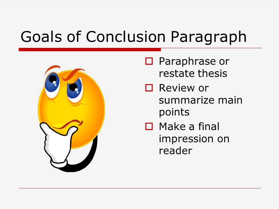 essay about paraphrasing