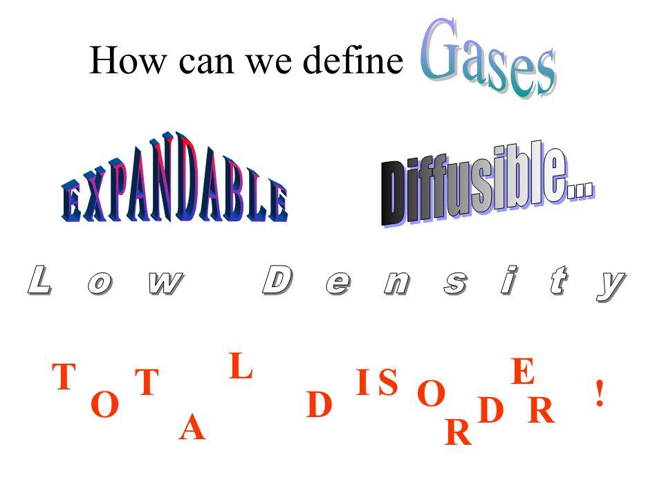 How can we define T O T A L D IS O R D ! E R