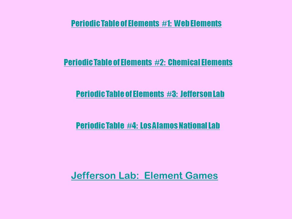 Jefferson lab periodic table games periodic diagrams science section 1 matter has mass and volume anything that education jlab org periodic table silicon clified urtaz Gallery