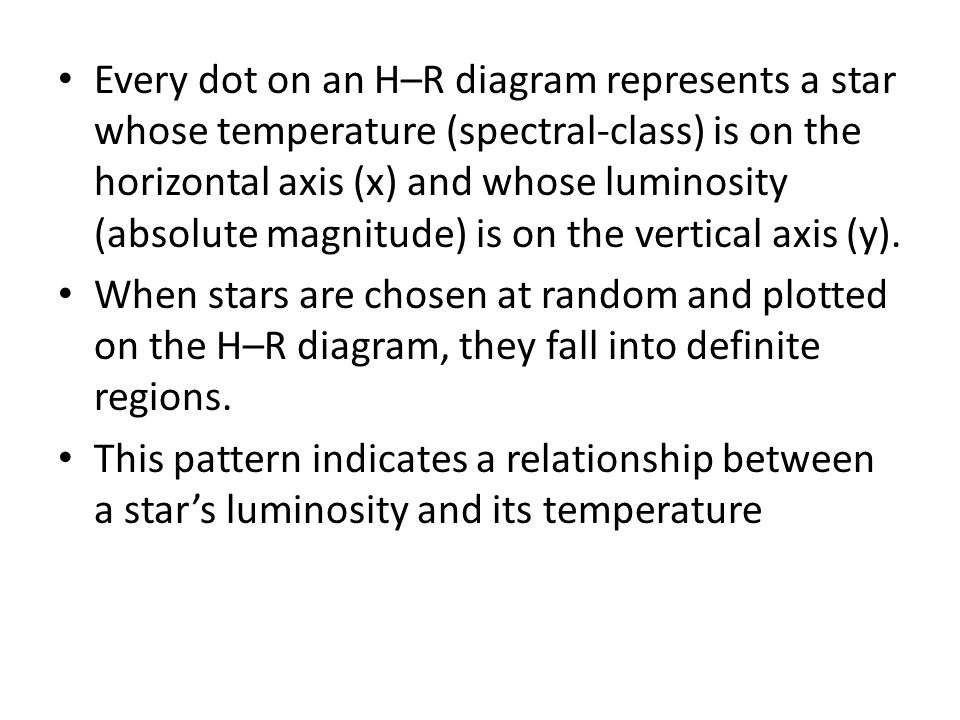 H r diagram jan 9 2013 lecture a hertzsprungrussell diagram every dot on an hr diagram represents a star whose temperature spectral ccuart Images