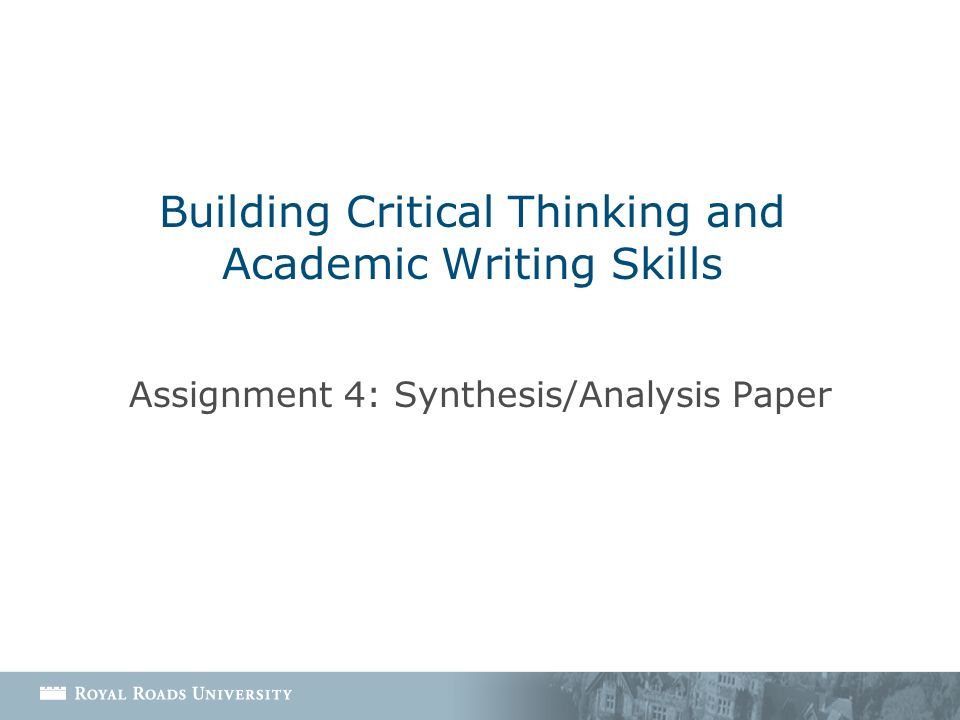 snef critical thinking