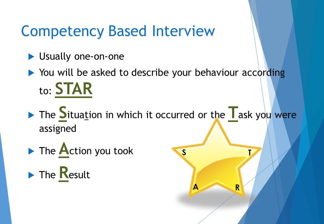 behaviour based interview