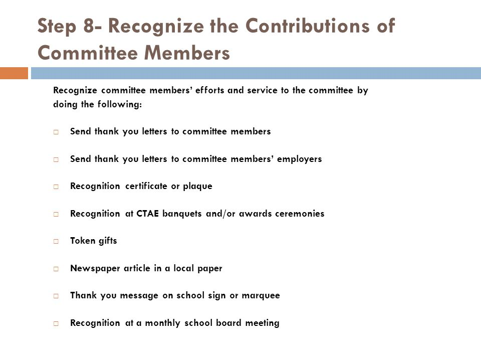 The nuts and bolts of advisory committees development of work 21 step expocarfo