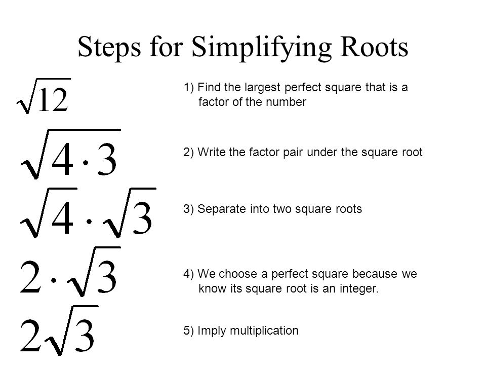 Square Roots Reference Card | 8th Grade Number System 8.NS.A.1 &amp- 8 ...