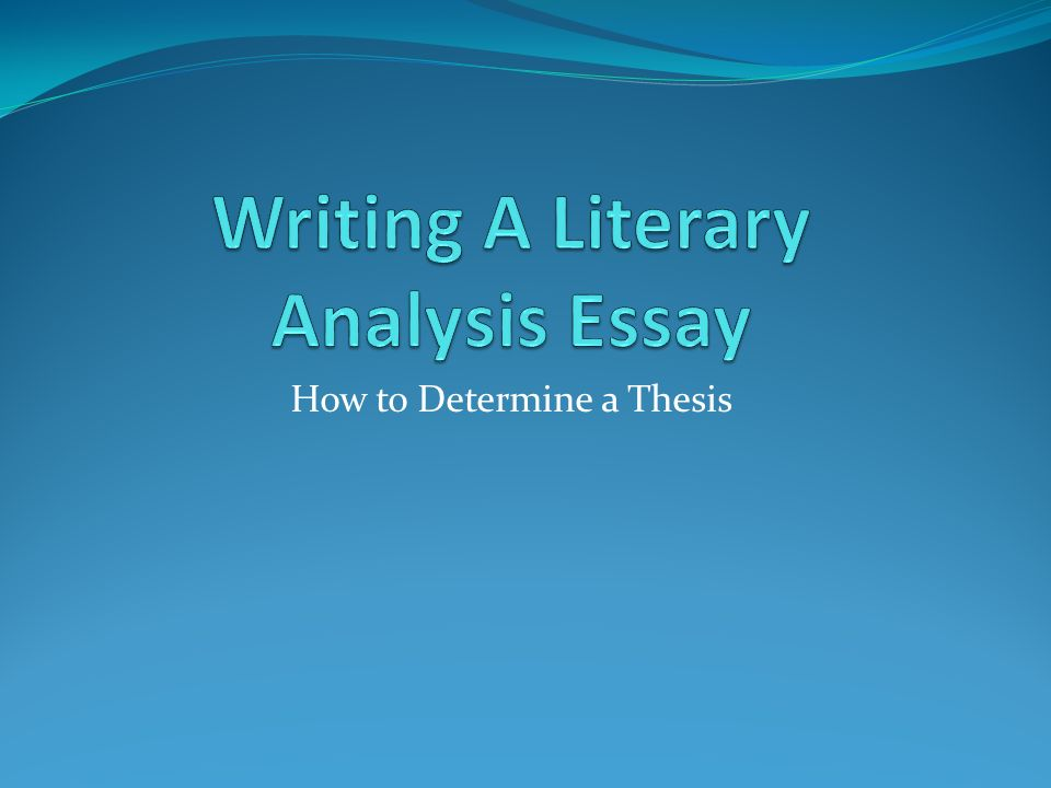 setting point of view and theme essay