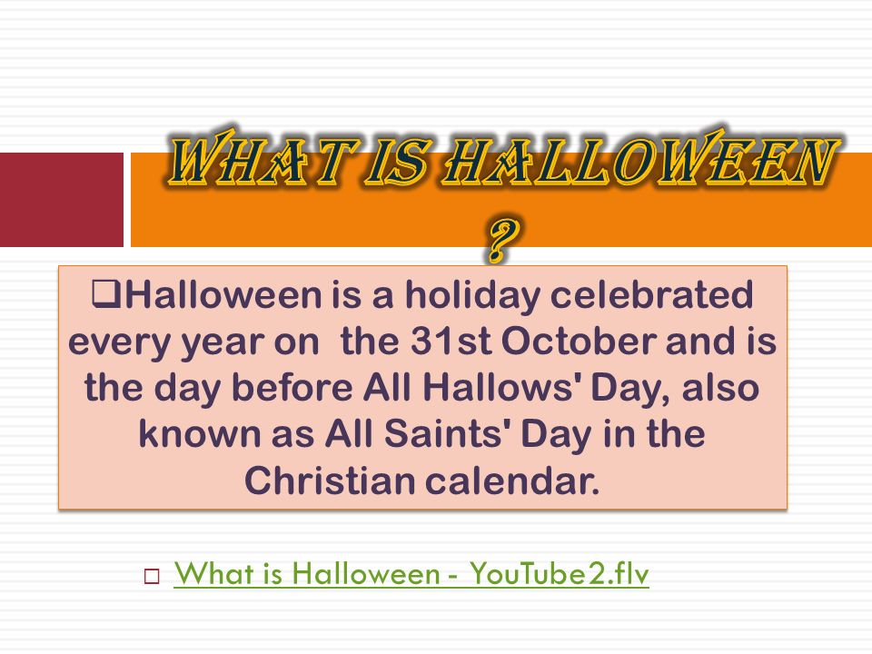 What is Halloween and how to celebrate it ?  What is Ashura and ...