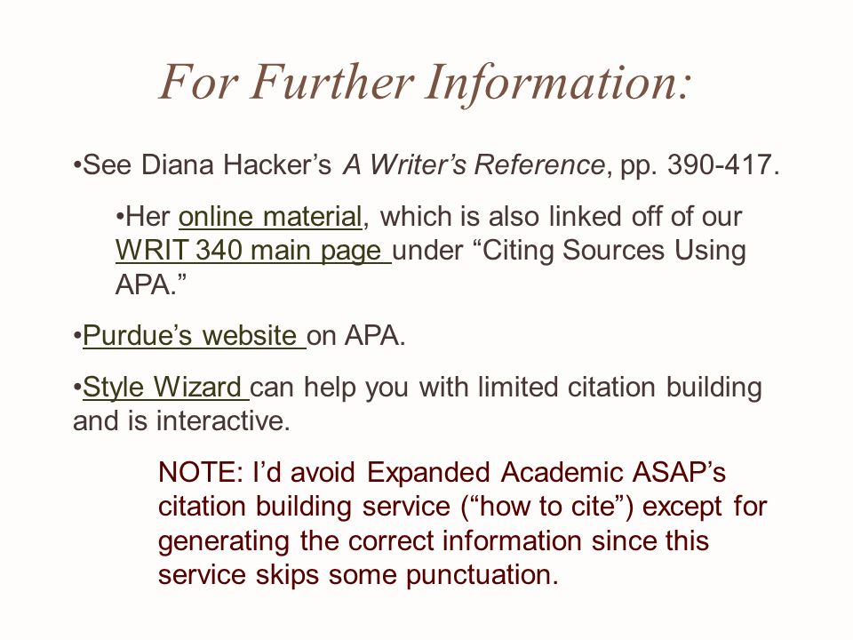 diana hacker mla essay format And these should follow mla format, not one you create on the spur of the moment or borrow from some other essay on greenhouse effect discursive essay - mla research end of life case study environmental issues with issn no see the diana hacker mla guide in the bookstore under enlt 000.