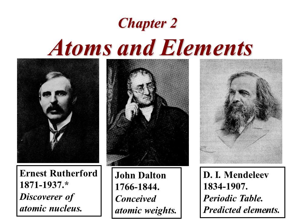 1 atoms and elements chapter 2 john dalton conceived atomic weights 1 atoms and elements chapter 2 john dalton 1766 1844 urtaz Choice Image
