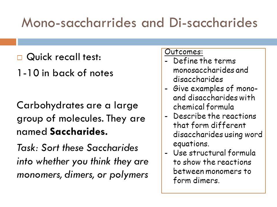 kohlenhydrate chemie definition