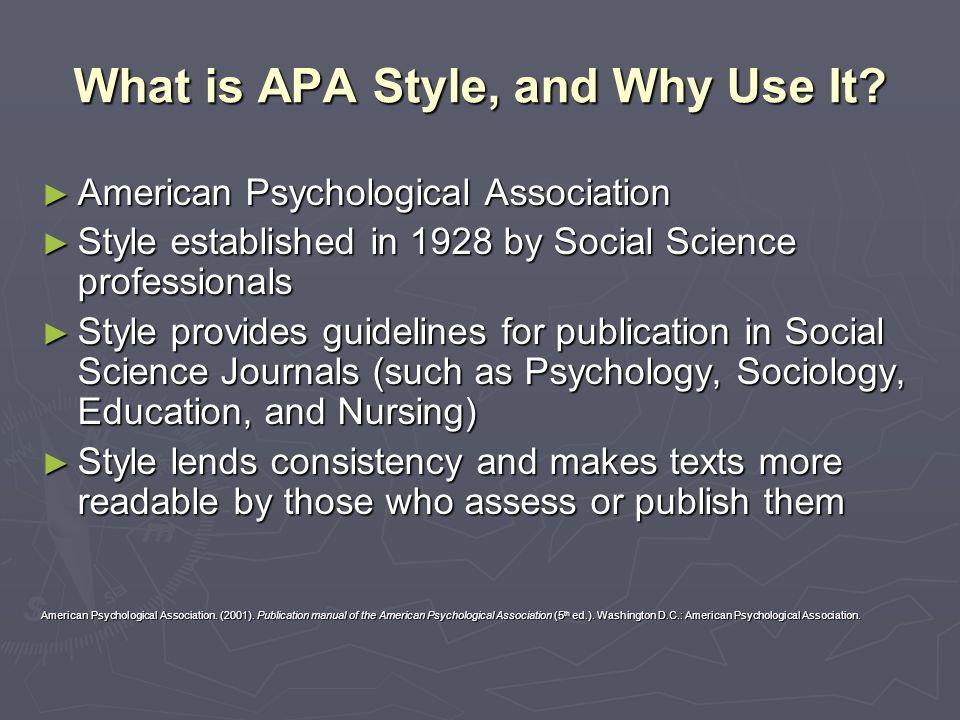 Bevorzugt APA Style: The Basics A UNA University Writing Center Citation and  PR62