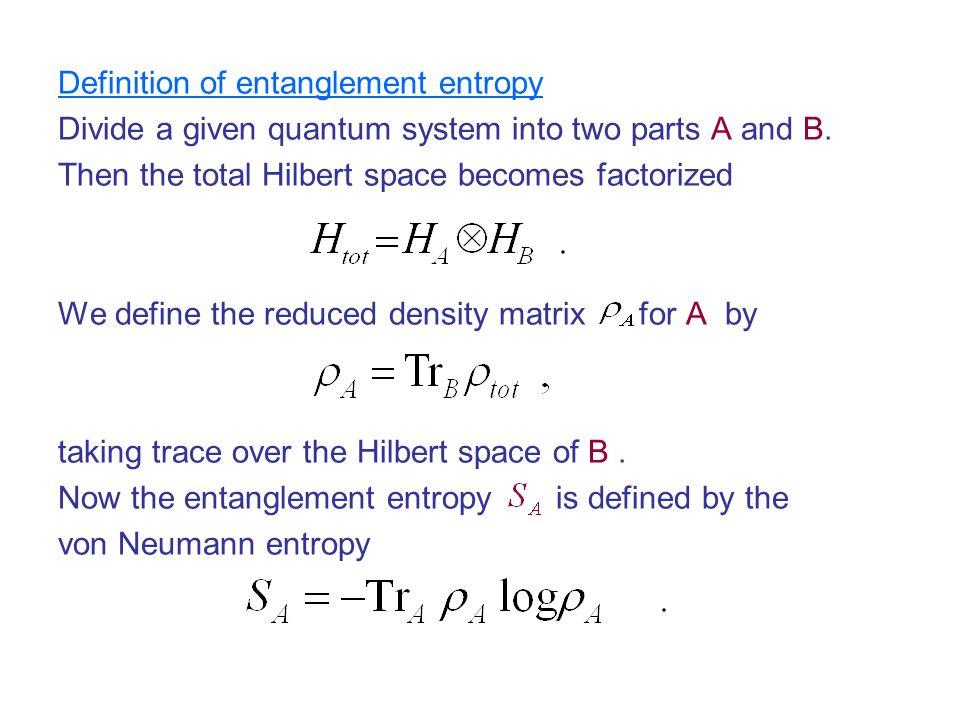 takayanagi entanglement entropy