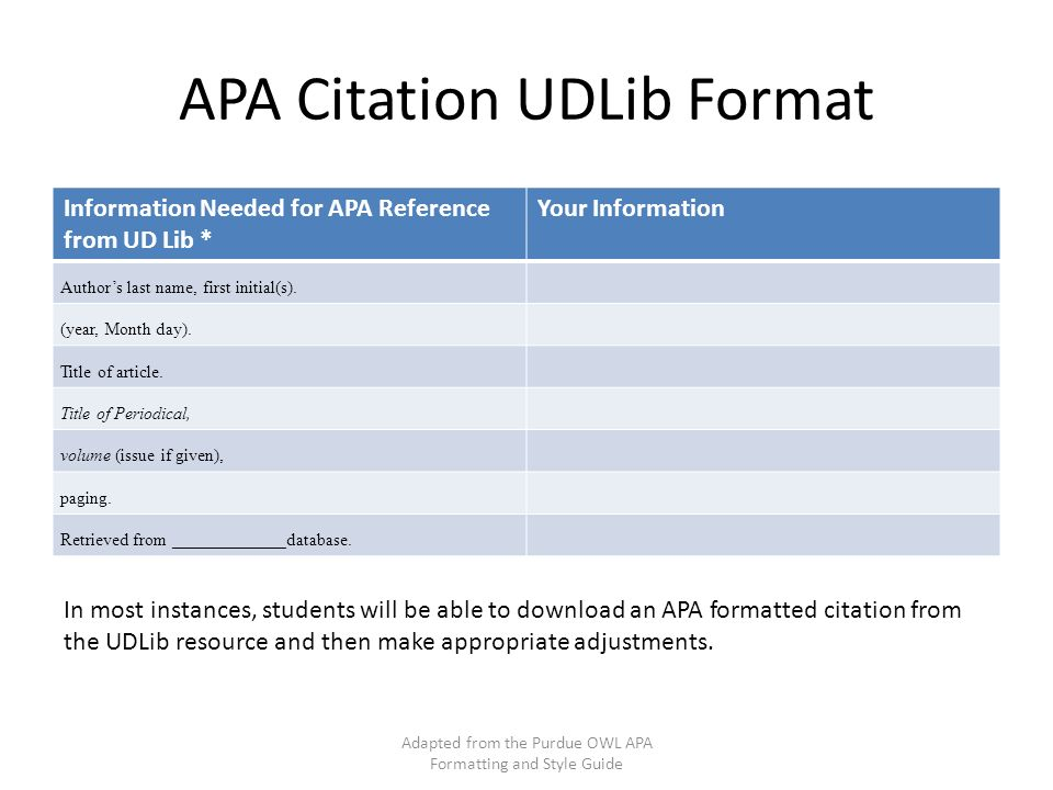 Apa formatting and style guide adapted from the purdue owl apa 23 apa citation ccuart Choice Image