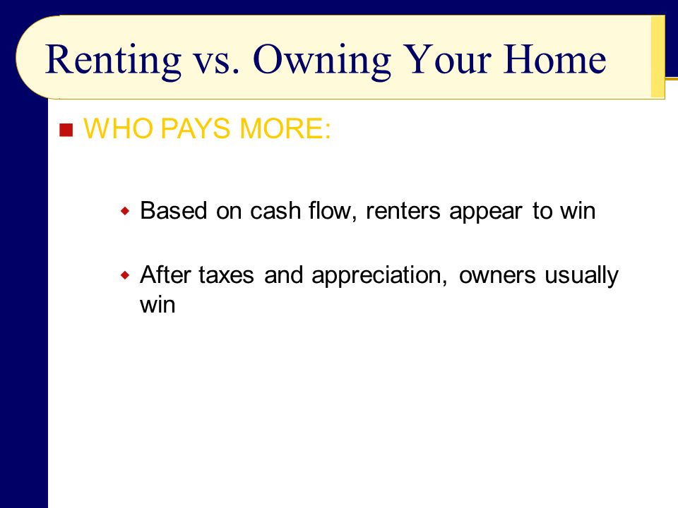 Renting vs.