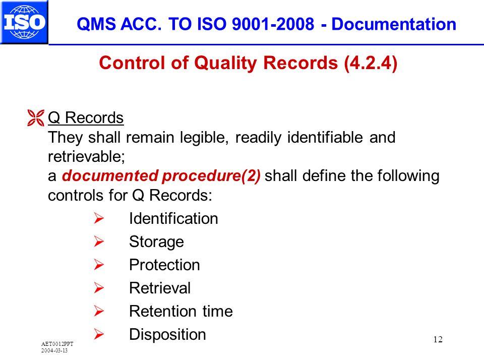 AET0012PPT 2004-03-13 12 QMS ACC.