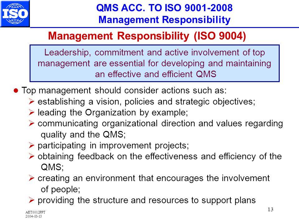 AET0012PPT 2004-03-13 13 QMS ACC.