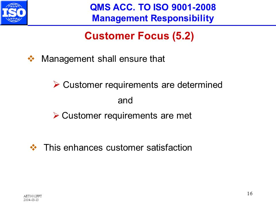 AET0012PPT 2004-03-13 16 QMS ACC.