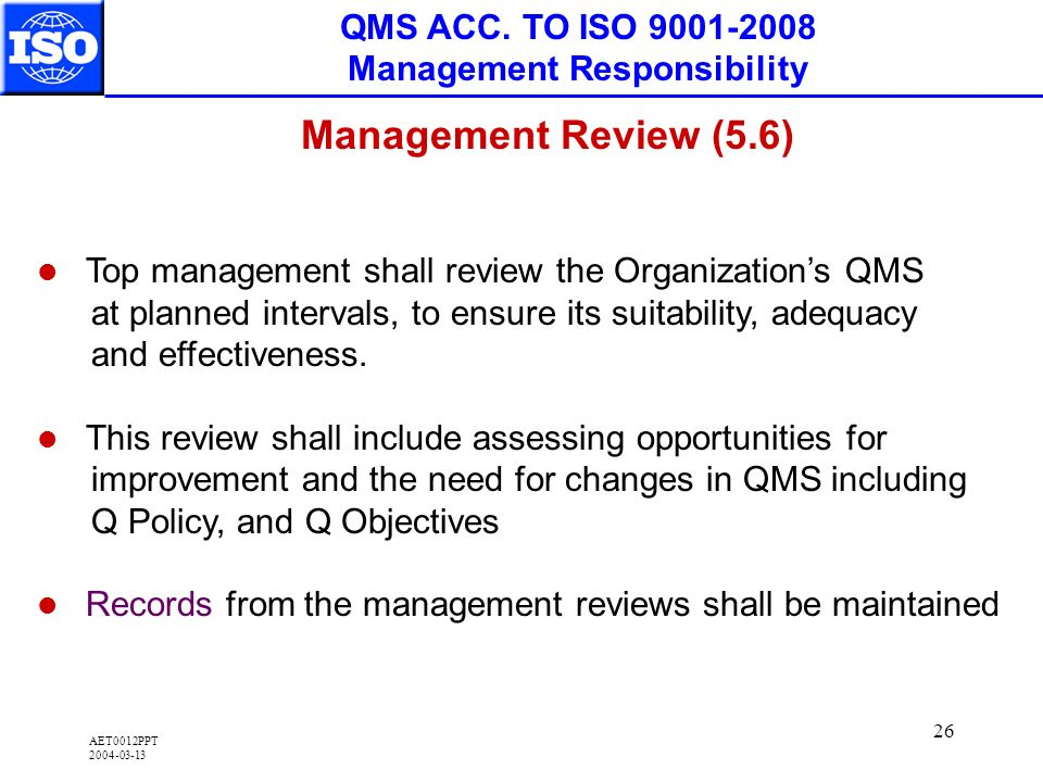 AET0012PPT 2004-03-13 26 QMS ACC.