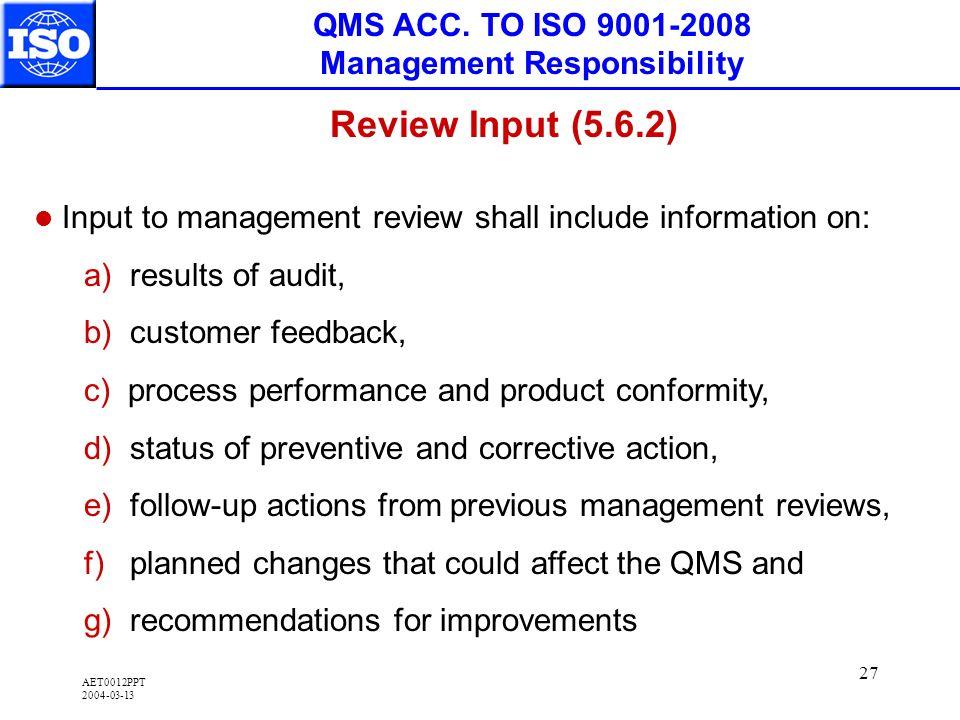 AET0012PPT 2004-03-13 27 QMS ACC.