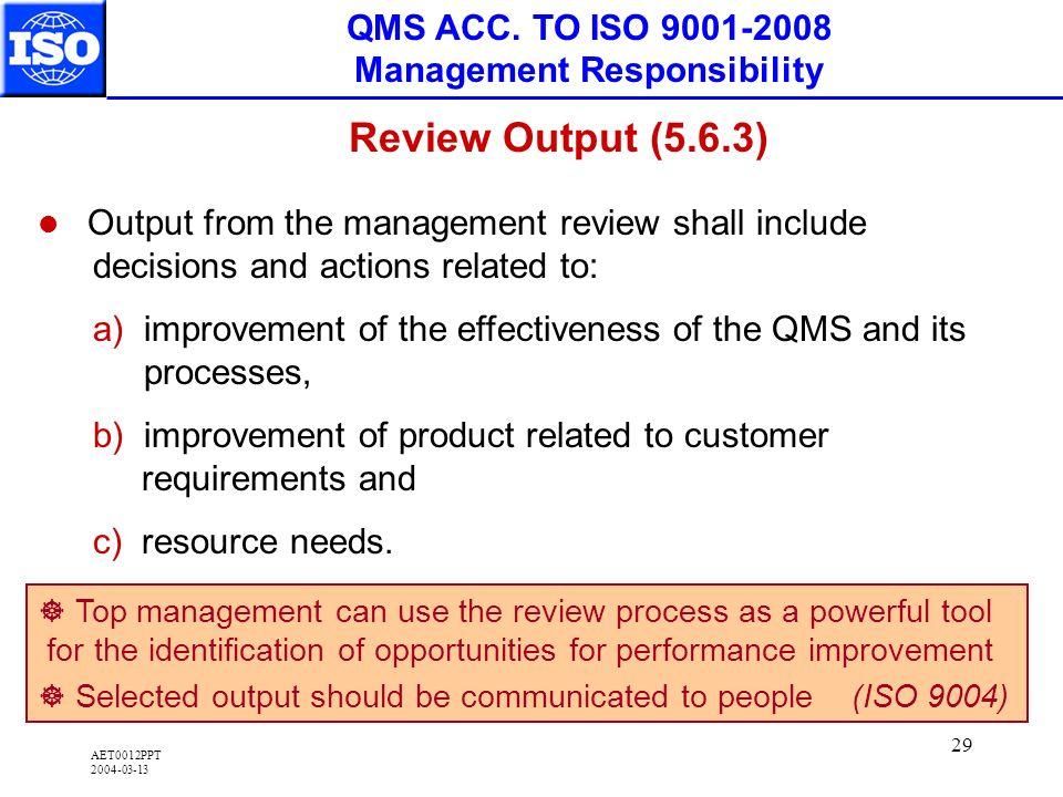 AET0012PPT 2004-03-13 29 QMS ACC.