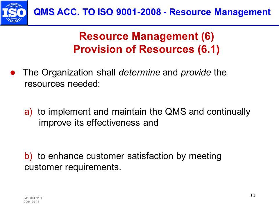 AET0012PPT 2004-03-13 30 QMS ACC.