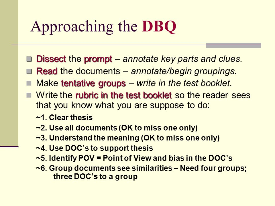 ap world dbq essay rubrics Name: _ apwh ap world generic dbq rubric (revised dbq apwh rubric - 2017 changes - name apwh ap world dbq essay writing introduction time and place covered.