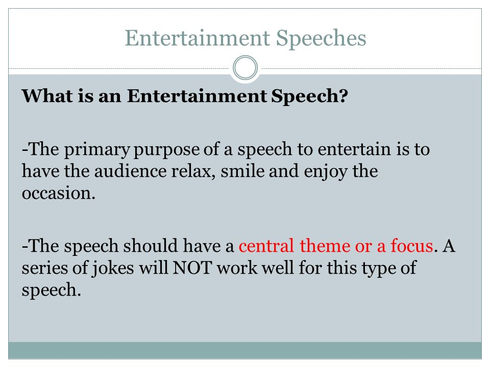 Ms. Suha Jawabreh Lecture 28 Oral Communication. Types Of Speeches